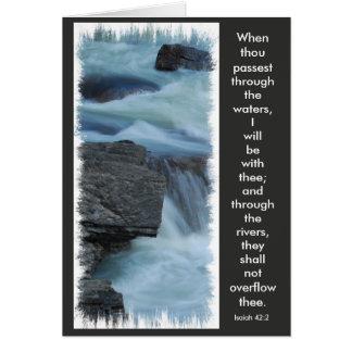 greeting card, Bible verse Card