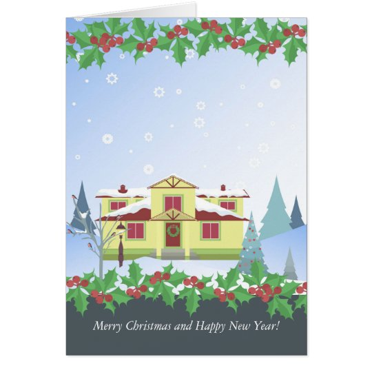 Greeting Card -Christmas and New Year!