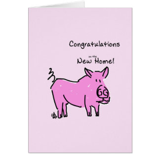 Greeting card- Congratulations on the New Home Greeting Card