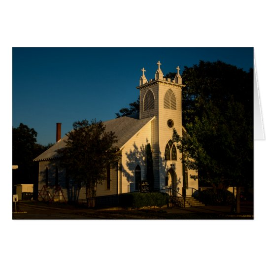 Greeting Card - Country Church