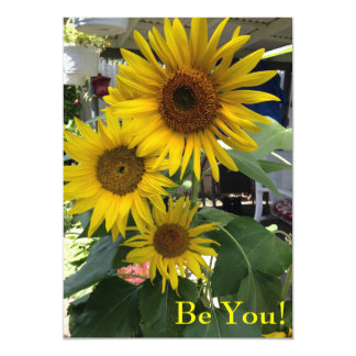 Greeting Card - Encouragement - Be You!