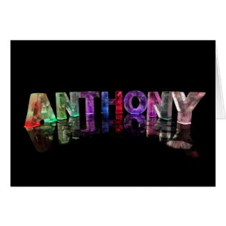 Greeting Card for Anthony