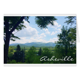Greeting Card from Asheville, North Carolina
