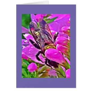 Greeting Card from the Bee's Eyes Collection