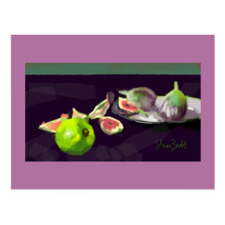 Greeting card gift Still Life with Figs Postcard
