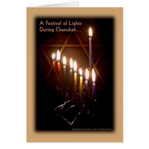 Greeting Card - Happy Chanukah