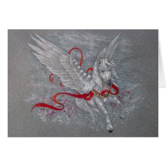 Greeting Card - Holiday Pegasus