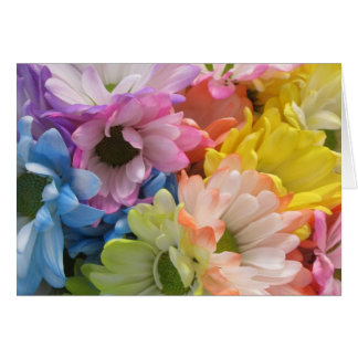 Greeting Card - MultiColored Daisies II