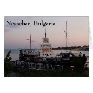 Greeting Card Nessebar, Bulgaria