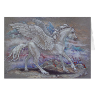 Greeting Card - Pegasus