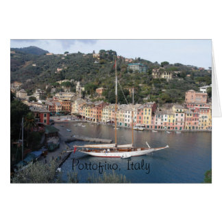 greeting card - Portofino, Italy