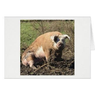 Greeting Card - Sheila my Big Fat Pig
