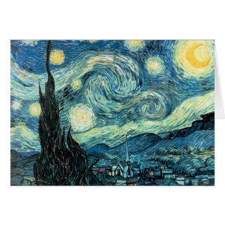 Greeting Card - Starry Night