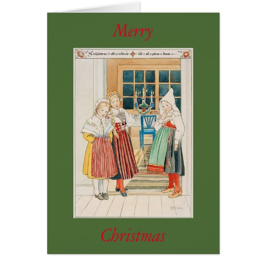 Greeting Card - Swedish Christmas