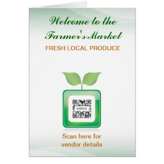 Greeting Card Template Farmer's Market