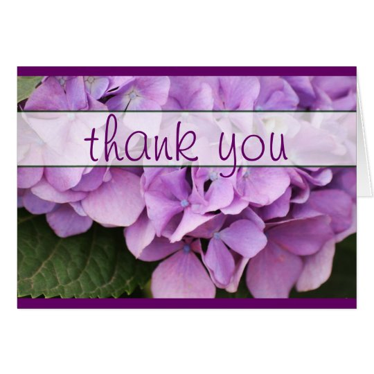 Greeting Card ~ Thank you :: Floral