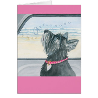 Greeting Card w/ envelope - Arooooo! Celebration