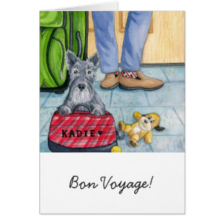 Greeting Card w/envelope - Bon Voyage!