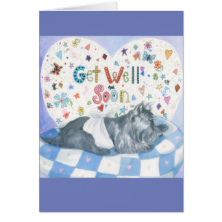 Greeting Card w/ envelope - Get Well Soon