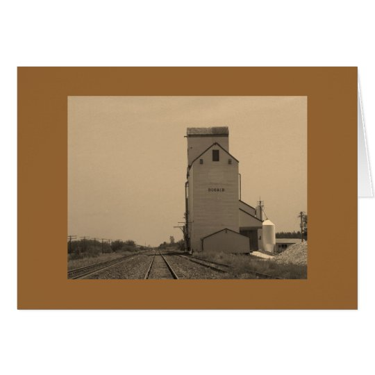 Greeting Card with Elevator Design - Blank