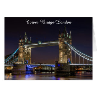 Greeting Cards -Tower Bridge London