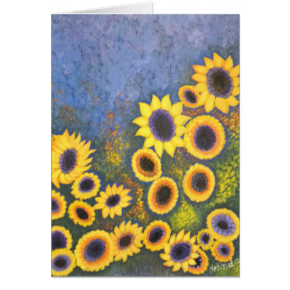 Greeting Cards with Sunflowers