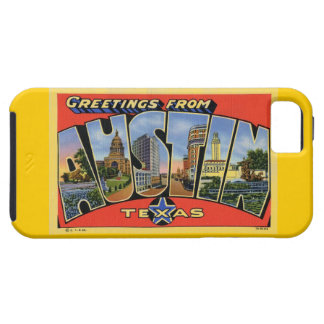Greeting From Austin! iPhone 5 Cases