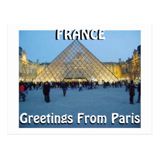 GREETING FROM PARIS (Mojisola A Gbadamosi) Postcards