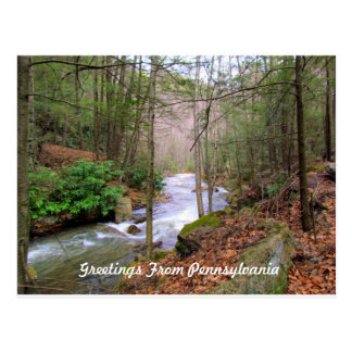 Greeting From Pennsylvania Postcard