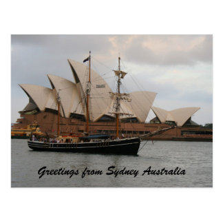 Greeting from Sydney Opera House Postcards