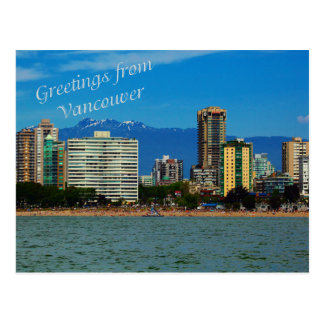 Greeting from Vancouver postcard