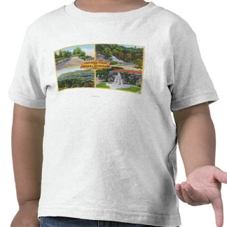 Greeting From with Scenic Views Shirt