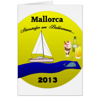 greeting map mallorca greeting cards