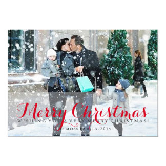 Greeting - Merry Christmas Card