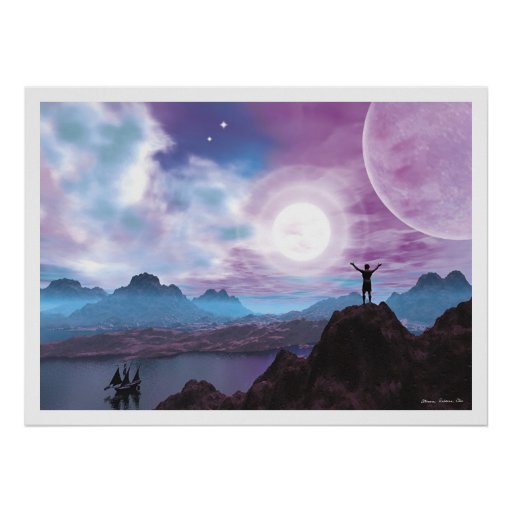 Greeting the Sun Poster