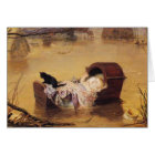 Greetingcard With John Everett Millais Painting Card