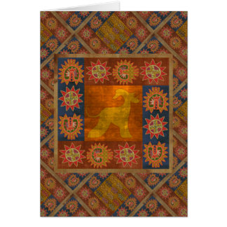 Greetings card Afghan