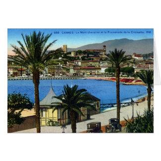 Greetings Card - Cannes, La Croisette
