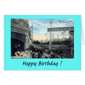 Greetings Card - Coney Island, NYC
