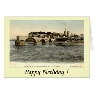 Greetings Card - Le Pont d'Avignon