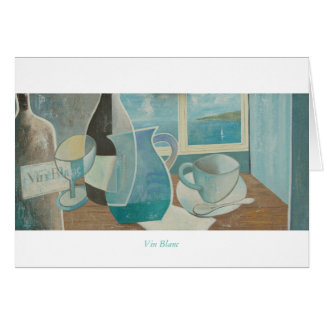 Greetings Card: Vin Blanc. St Ives Series. Card