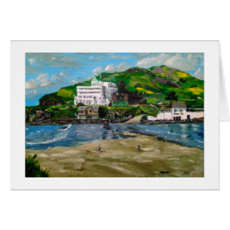 "Greetings Card - ""Welcome to the Island"""