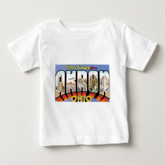 Greetings from Akron, Ohio! Baby T-Shirt