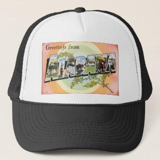 Greetings From Alabama, Vintage Trucker Hat