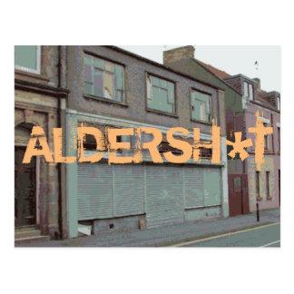 Greetings from Aldersh*t postcards