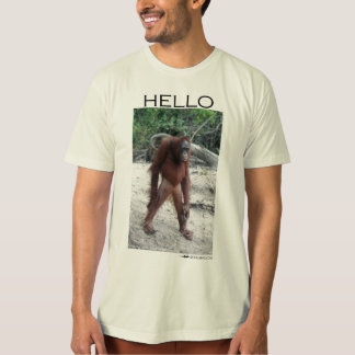 Greetings from an orangutan T-Shirt