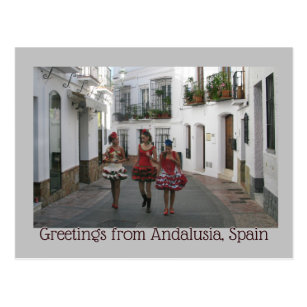 Greetings from Andalusia, Spain Postcard