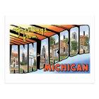 Greetings from Ann Arbor, Michigan Postcard