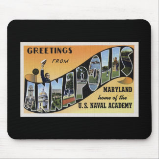 Greetings from Annapolis Maryland Mouse Pad