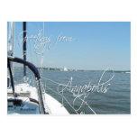 Greetings from Annapolis sailboat  Chesapeake Bay